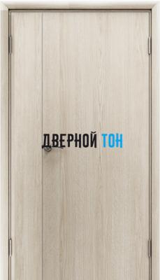 Пластиковая гладкая дуб дверь Aquadoor полуторная