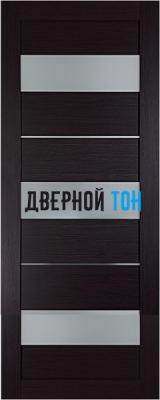 Царговая межкомнатная дверь мод. 12 венге