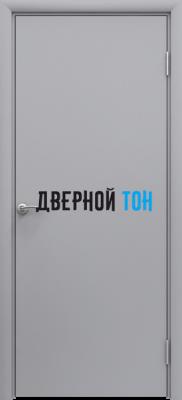 Пластиковая гладкая серая дверь Aquadoor