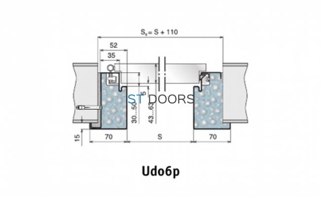 Коробка udo6r