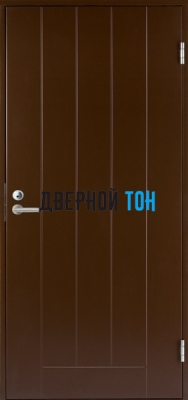 Дверь Jeld-Wen модель B0010 коричневая