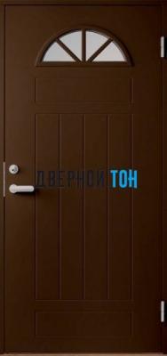 Дверь Jeld-Wen модель B0050 коричневая