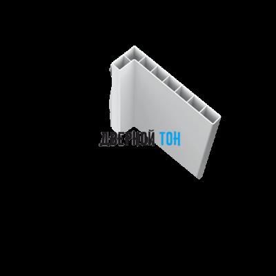 Наличник белый пластиковый телескопический 2200х70х10 Aquadoor