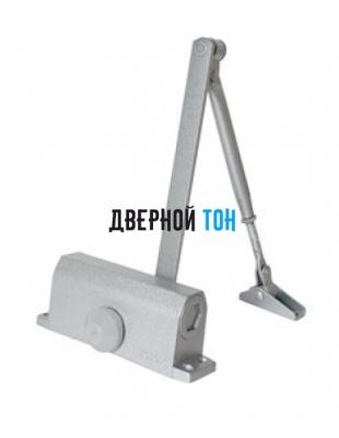 Дверной доводчик home 65 кг серебро