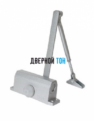 Дверной доводчик HOME 100 кг серебро