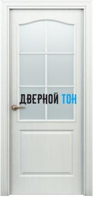 Филенчатая дверь Палитра классик ДО белая