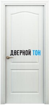 Филенчатая дверь Палитра классик ДГ белая