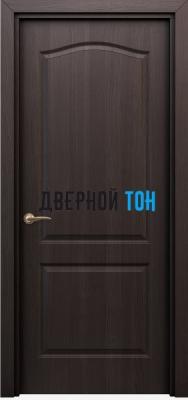 Филенчатая дверь Палитра классик ДГ венге