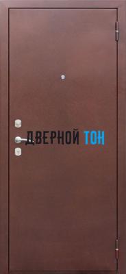 Входная металлическая дверь ТРИУМФ (Металл-МДФ) Снаружи