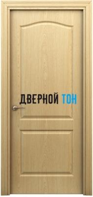 Филенчатая дверь Палитра классик ДГ светлый дуб