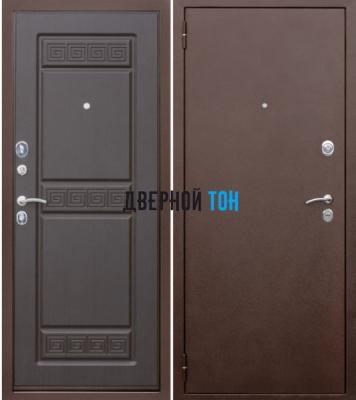 Входная металлическая дверь ТРОЯ (металл-МДФ) Венге