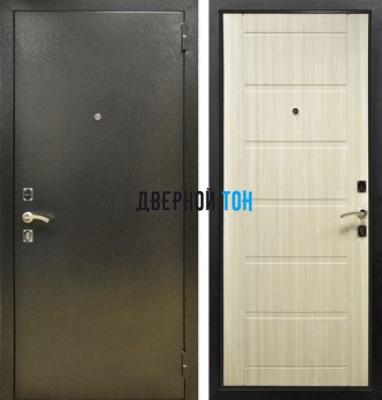 Входная металлическая дверь СИТИ (металл-МДФ) Эш вайт
