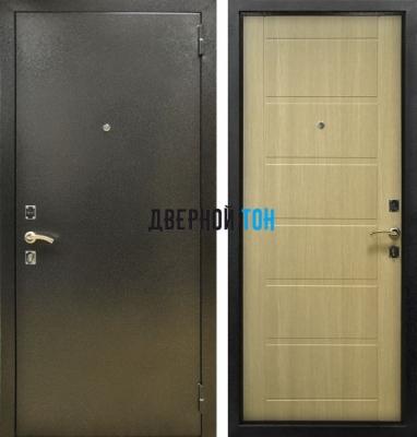 Входная металлическая дверь СИТИ (металл-МДФ) Капучино