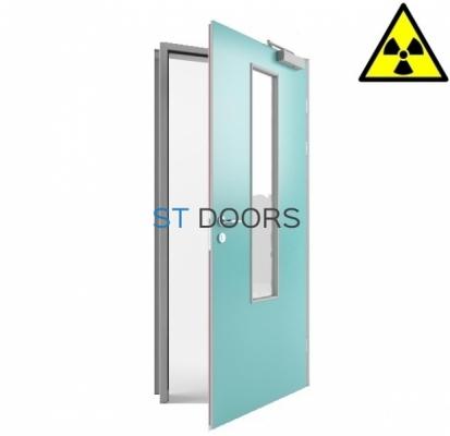 Комбинированная рентгенозащитная дверь (ТИП PB 34)