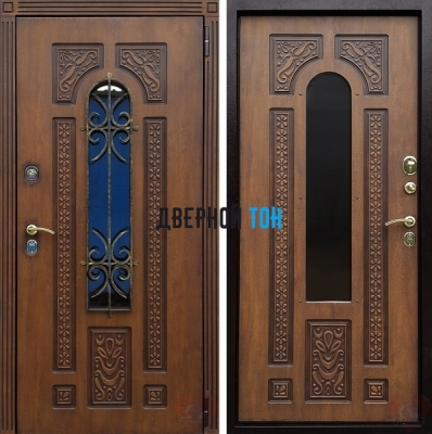 Входная металлическая дверь ЛАЦИО ВИНОРИТ (МДФ-МДФ)