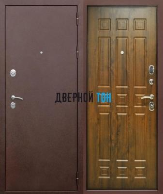 Входная металлическая дверь ТРОЯ ВИНОРИТ(металл-МДФ)