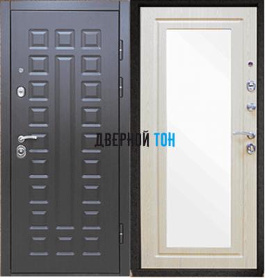 Входная металлическая дверь СЕНАТОР ЗЕРКАЛО (МДФ-МДФ)