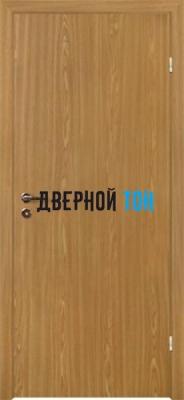 Гладкая ламинированная финская дверь с четвертью Дуб