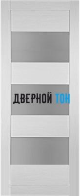 Царговая межкомнатная дверь мод. 3 лиственница белая