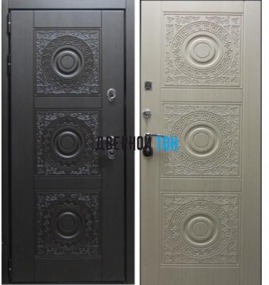 Входная металлическая дверь БОГЕМА (МДФ-МДФ)