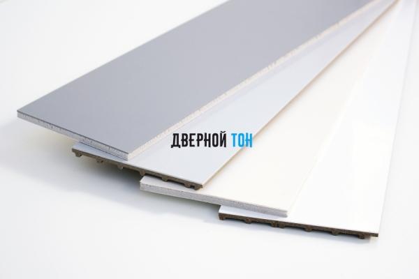 Добор для F-образного наличника пластиковый вспененный ПВХ моноколор 100 мм
