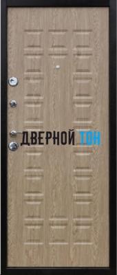 Входная металлическая дверь ЙОШКАР (металл-МДФ) Карпатская ель