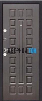 Входная металлическая дверь ЙОШКАР (металл-МДФ) Венге