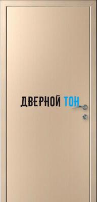 Гладкая дверь Капель дуб беленый (телескопическая коробка)