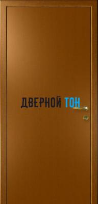Гладкая дверь Капель дуб золотой (телескопическая коробка)