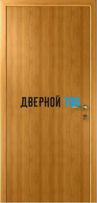 Гладкая дверь Капель миланский орех (телескопическая коробка)