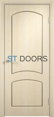 Филенчатая ламинированная дверь Кэрол ДГ Беленый дуб