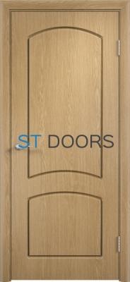 Филенчатая ламинированная дверь Кэрол ДГ Дуб