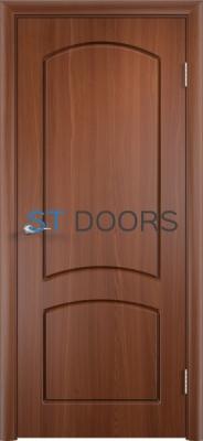 Филенчатая ламинированная дверь Кэрол ДГ Итальянский орех