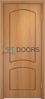 Филенчатая ламинированная дверь Кэрол ДГ Миланский орех