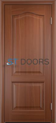 Филенчатая ламинированная дверь Классика ДГ Итальянский орех