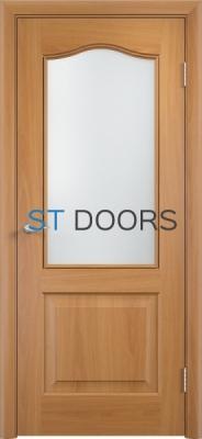 Филенчатая ламинированная дверь Классика ДО Миланский орех