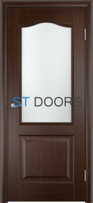 Филенчатая ламинированная дверь Классика ДО Венге