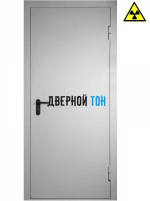 Рентгенозащитная дверь ДР-1 одностворчатая свинцовый эквивалент 1.5 Pb
