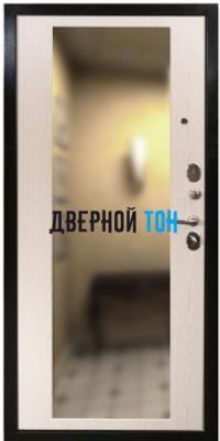 Входная металлическая дверь СЕНАТОР 2К ЗЕРКАЛО (МДФ-МДФ) внутри