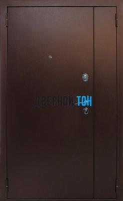 Тамбурная дверь металл-МДФ (венге)