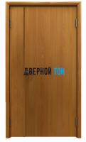 Пластиковая гладкая миланский орех дверь Aquadoor полуторная