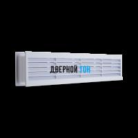 Дверная вентиляционная решетка серая 430 мм