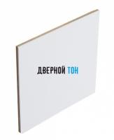 Добор для F-образного наличника пластиковый вспененный ПВХ моноколор 100 мм белый