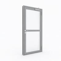 Металлическая противопожарная профильная дверь с пределом огнестойкости EI30 (Тип STS-PP30) с импостом