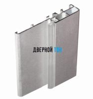 Алюминиевый порог для двухстворчатых дверей 88 мм