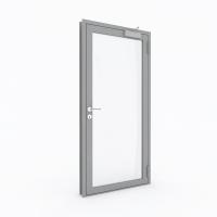 Металлическая противопожарная профильная дверь с пределом огнестойкости EI30 (Тип STS-PP30)