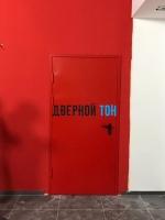 Металлическая противопожарная дверь Eis 60 RAL 3003