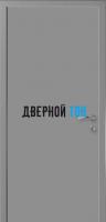 Гладкая серая RAL 7040 дверь Капель (телескопическая коробка)