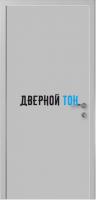Гладкая серая RAL 7035 дверь Капель (телескопическая коробка)