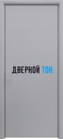 Маятниковая гладкая композитная серая дверь Aquadoor
